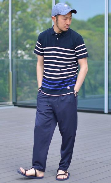 ポロシャツ選びのコツは「生地」にあり!大人メンズのポロシャツコーデ18選 16番目の画像