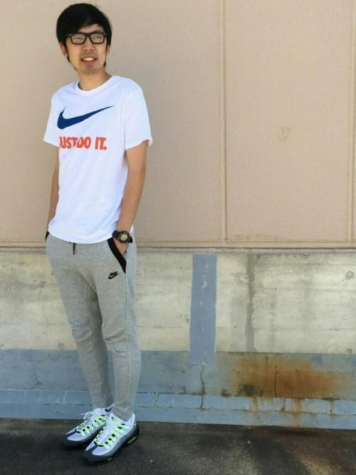 春夏スポーツMIXはナイキTシャツコーデで決まり!ナイキTシャツの着こなしテクニック8つ 3番目の画像
