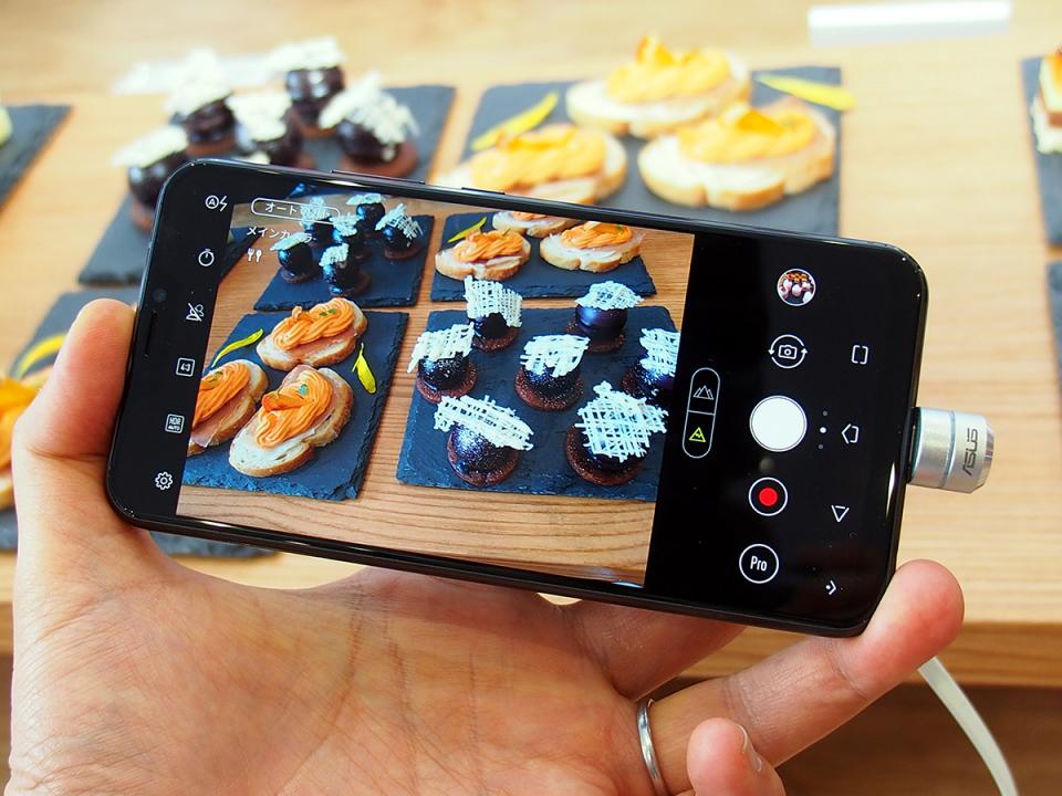 石野純也のモバイル活用術:ASUS渾身のZenFone 5はAIとスマホを融合させた有能SIMフリースマホ 4番目の画像