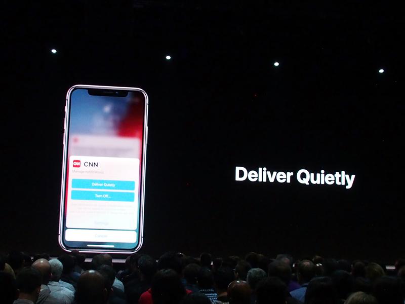 石野純也のモバイル活用術:WWDC「iOS 12」発表でAppleが打ち出した「顧客中心主義」の中身とは? 6番目の画像