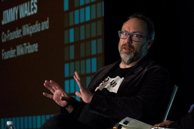 「面白いことをしたい一心だった」ITバブル崩壊後ウィキペディアを創設したジミー・ウェールズが胸中を語る 1番目の画像