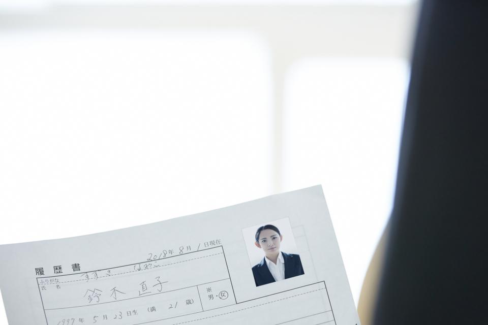 【履歴書写真マニュアル】転職活動における履歴書写真の撮り方の正解とは? 1番目の画像