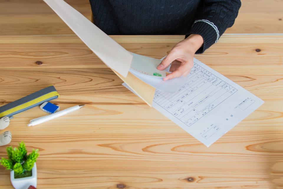 【履歴書】履歴書を郵送する際の「封筒の書き方」 1番目の画像