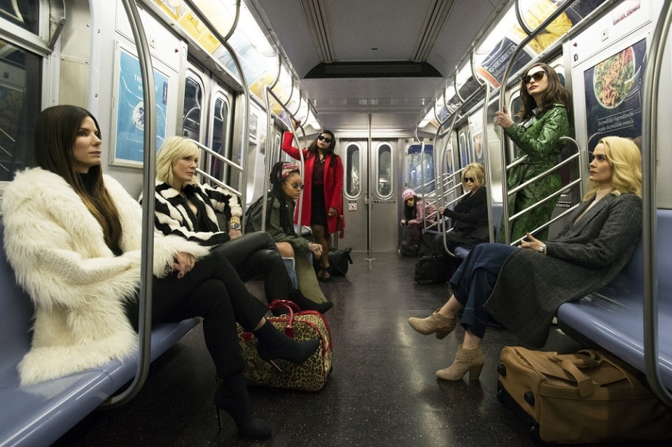 映画×ファッション×アート各界が理想的なコラボ!「オーシャンズ8」が無敵な理由 1番目の画像