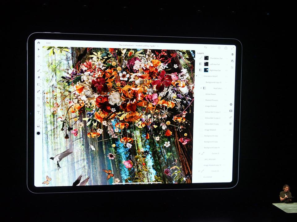 石野純也のモバイル活用術:値段以上の価値あり、新型iPad Proの4つの特徴 6番目の画像