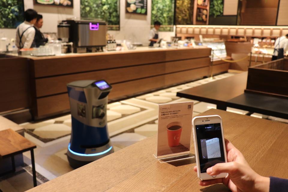 カフェ店員不要の時代?!デリバリーロボットによる次世代カフェとは? 1番目の画像