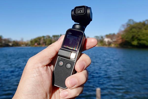 西田宗千佳のトレンドノート:小型でブレないカメラ「Osmo Pocket」をチェックする 1番目の画像