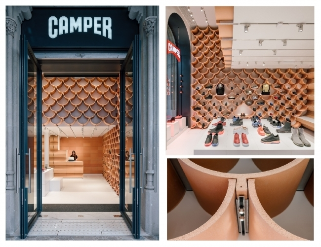"""建築家 隈研吾氏が手掛けたバルセロナのCAMPERショップ""""Together Store""""がオープン 2番目の画像"""