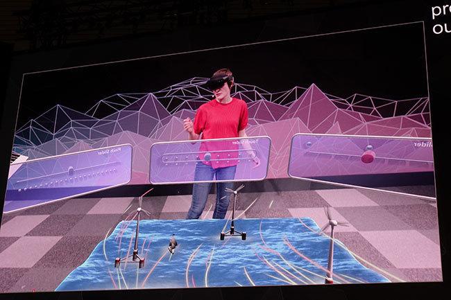 西田宗千佳のトレンドノート:マイクロソフトがHoloLens 2を「モバイル関連展示会」で発表する意味   5番目の画像