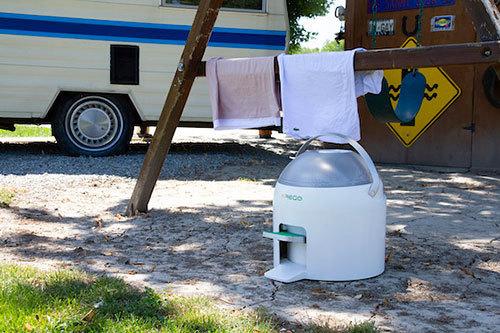 5分でちゃちゃっと洗える時短&エコな足踏み洗濯機「Drumi」の日本上陸プロジェクトがKibidangoで開始 3番目の画像