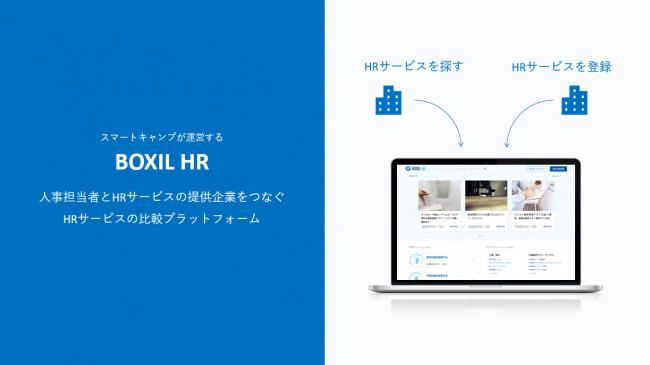スマートキャンプ株式会社が人事向けサービス比較サイト「ボクシルHR」をリリース、「BtoBプラットフォーム構想」を掲げさらなる事業展開を目指す 2番目の画像
