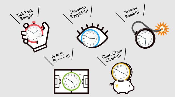 働き方改革はミーティング時間のマネジメントから!目と耳で時計を意識させるプロダクト「着せかえ時短キット」を提案 2番目の画像