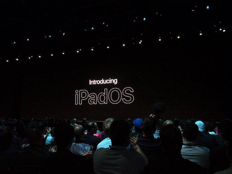 石野純也のモバイル活用術:スマホの進化系からコンピューターへ。新登場のiPadOSを徹底解説【WWDC 2019】 1番目の画像