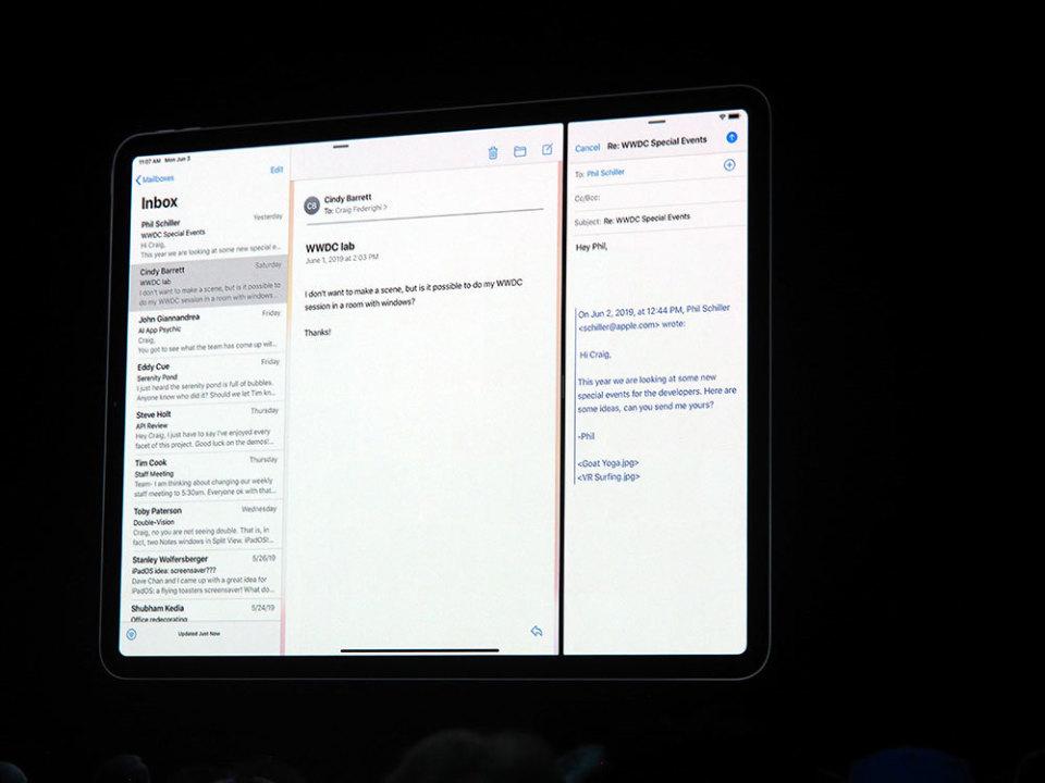 石野純也のモバイル活用術:スマホの進化系からコンピューターへ。新登場のiPadOSを徹底解説【WWDC 2019】 3番目の画像