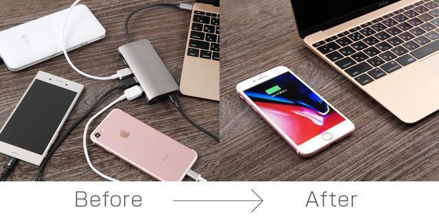 机がワイヤレス充電器になる?!待望の「deskHack」が一般販売開始 1番目の画像