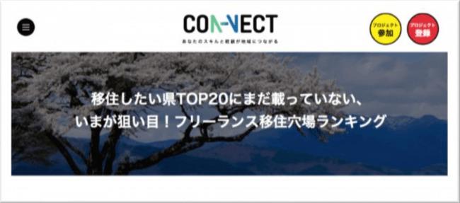 ワーケーションや移住を促進。フリーランサーと地域の仕事やプロジェクトをマッチングするプラットフォーム「CON-NECT」が登場 4番目の画像