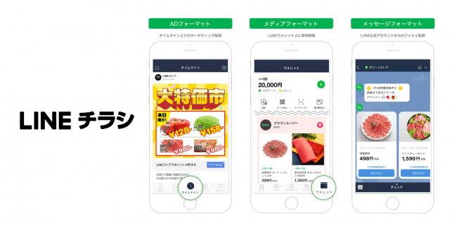 """LINEの新サービスは""""デジタルチラシ"""" ユーザーごとにパーソナライズ化した情報を配信  2番目の画像"""