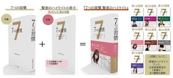 世界的なビジネス書『7つの習慣』に、ゆうこす氏ら7人の著名人による直筆メモを掲載した小冊子付き版が発売! 3番目の画像