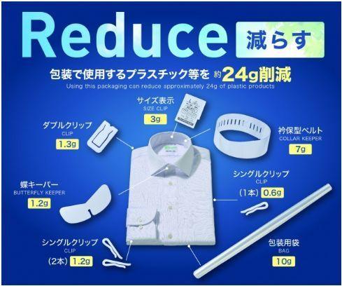 再生ポリエステル100%の白シャツ「ECO i-Shirt」が「グッドデザイン賞」を受賞!簡易包装も推進 2番目の画像
