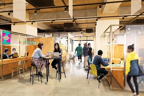 ・恵比寿にワークプレイス&賃貸住宅の「co-ba ebisu」開業へ、働くと暮らすを融合 2番目の画像