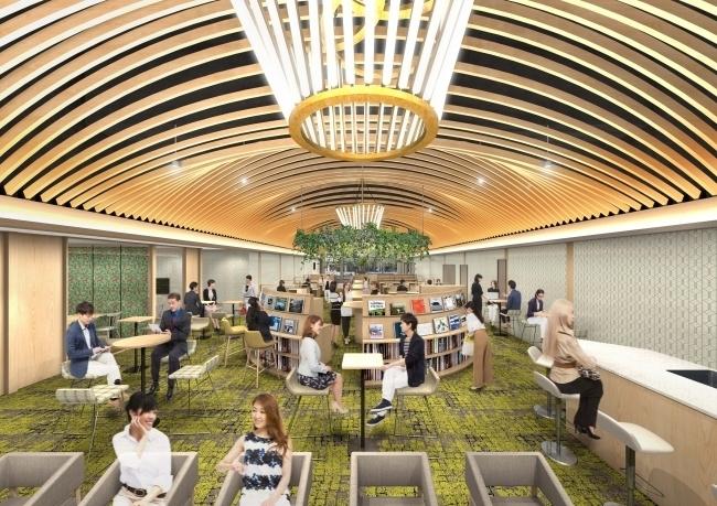 東梅田駅徒歩1分の好立地!10分100円から利用できる巨大コワーキングスペースがオープン 1番目の画像