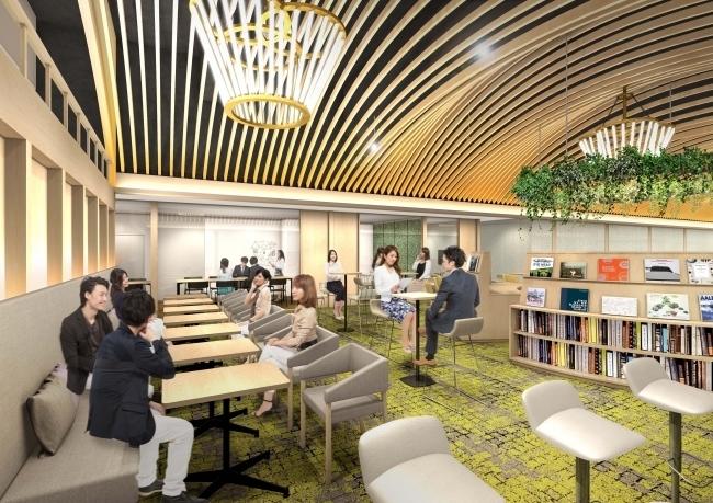 東梅田駅徒歩1分の好立地!10分100円から利用できる巨大コワーキングスペースがオープン 2番目の画像