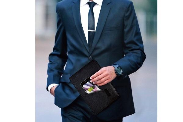 ・商談中も気づかれずにスマホを充電できる「充電ノート」が発売 7番目の画像