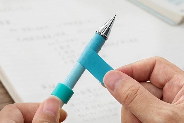 触り心地や太さが自由自在、自分でグリップを巻いて完成させるシャープペンが登場 1番目の画像
