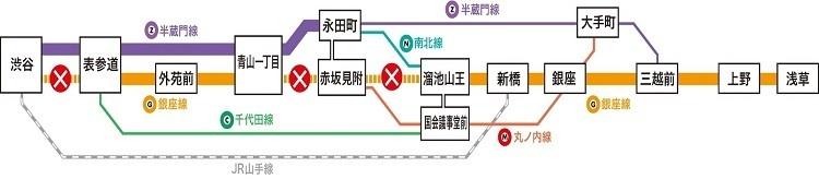 「銀座線渋谷駅」が2020年1月3日から新駅舎に!他路線との乗り換え動線を案内 7番目の画像