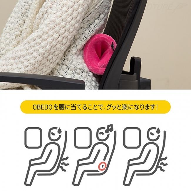 腰にも使えるコンパクトなポータブルネックピロー、新発売 3番目の画像