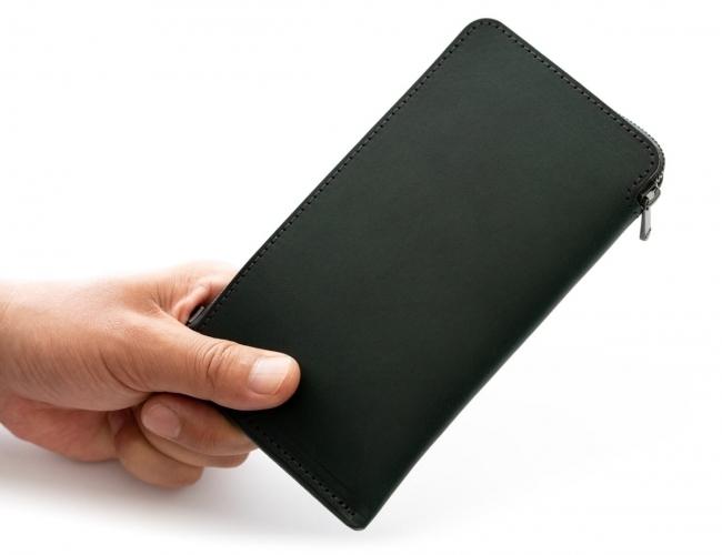 薄さを極めた長財布HITOE 長財布2 L-zip「Business」が11月8日に販売開始 2番目の画像
