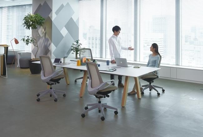 カジュアルなオフィスにも合う高機能なタスクチェアが新発売 1番目の画像
