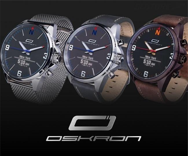 ビジネスマン向けのアナログ時計型スマートウォッチ「OSKRON」、先行予約販売スタート 3番目の画像