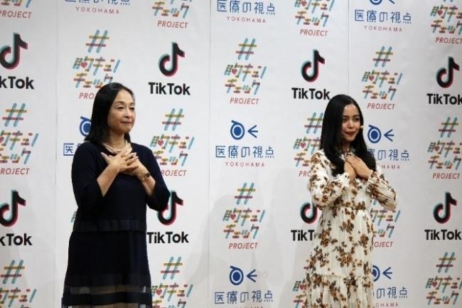 横浜市の乳がん啓発「#胸キュンチェック」が総視聴回数は9450万回。TikTokと連携 3番目の画像