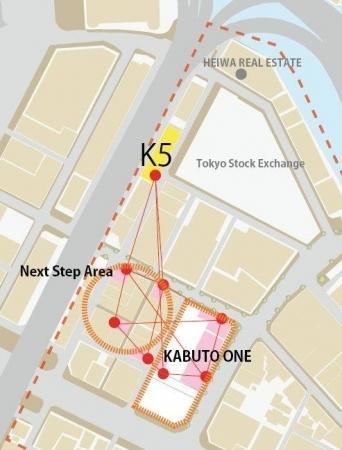 兜町に新複合施設「K5」が来年2月にオープンへ。東証すぐ裏手、旧第一銀行ビルを大規模リノベーション 4番目の画像