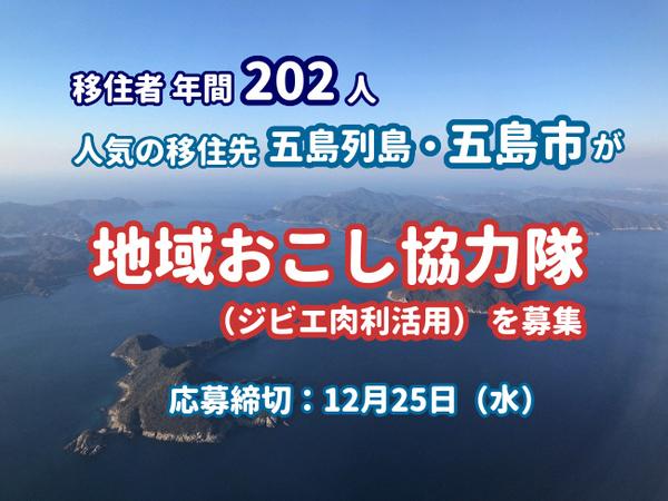 年間202人が移住する長崎県五島市が地域おこし協力隊を募集 4番目の画像