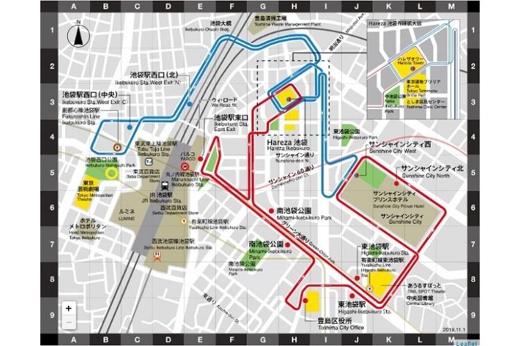 池袋の街を電気バス「IKEBUS」が巡る!水戸岡鋭治デザイン、11月27日から運行開始 2番目の画像