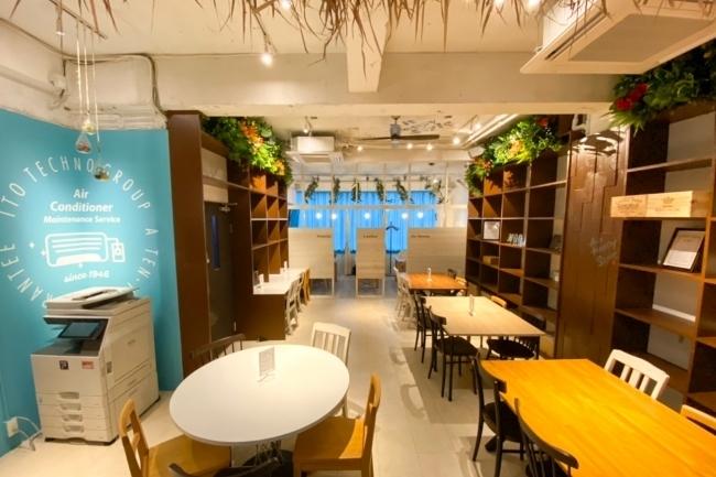 新小岩にリゾートをイメージしたコワーキングスペースがオープン!月額2万円で国内外全店舗利用が可能 2番目の画像