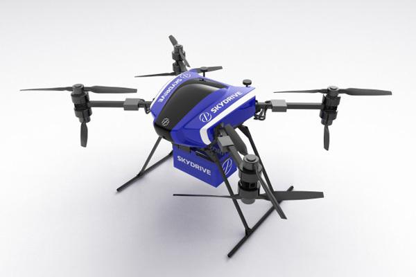 SkyDriveが大林組とタッグ!30キロ以上を運搬できる「カーゴドローン」実証実験と予約受付を開始 1番目の画像