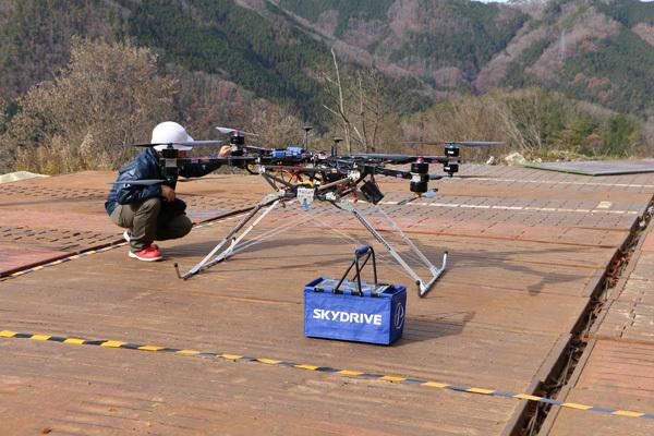 SkyDriveが大林組とタッグ!30キロ以上を運搬できる「カーゴドローン」実証実験と予約受付を開始 2番目の画像