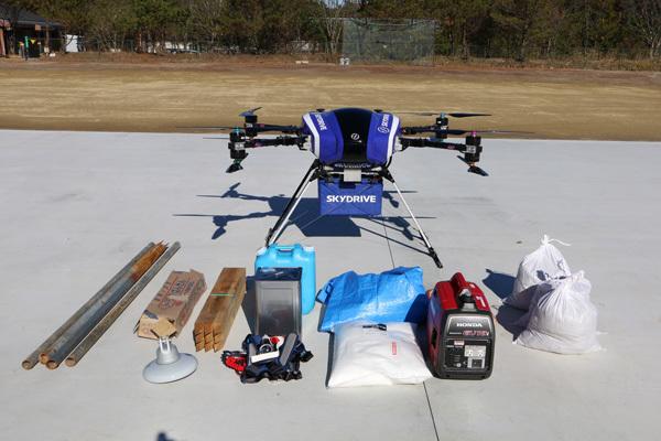 SkyDriveが大林組とタッグ!30キロ以上を運搬できる「カーゴドローン」実証実験と予約受付を開始 4番目の画像