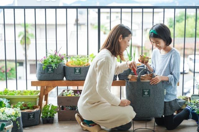 都市部の家庭向けに生ごみを分解し肥料に変えるスタイリッシュな「LFCコンポスト」が新発売 1番目の画像
