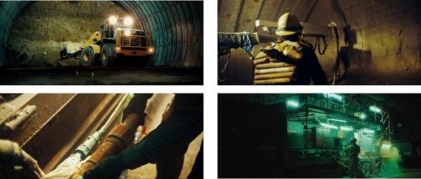 建設現場の作業音が映像&音楽に!戸田建設のユニークなPR動画 3番目の画像