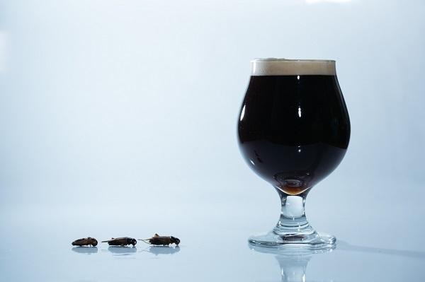コオロギを原料に使った「コオロギビール」が誕生、クリーミーな口当たりに重厚感ある味わい 1番目の画像