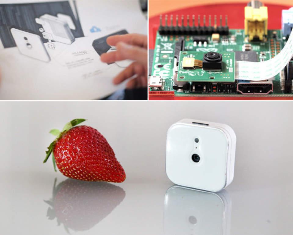 ウェアラブルカメラの革命!イチゴと同じくらい小さいカメラ「CA7CH Lightbox」 2番目の画像
