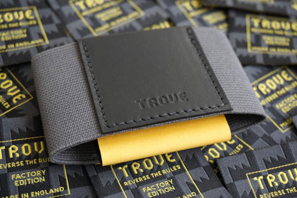 布で挟むだけ!?カード10枚入れても厚さ1cmの超薄い財布が登場 1番目の画像