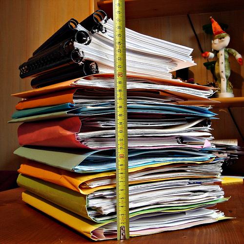 書類をまとめて整理する時に役立つ2つのアイデア 1番目の画像