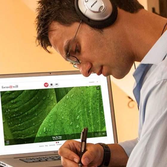 集中力が400%アップ!?神経科学を基に開発されたBGMアプリ「Focus@Will」がスゴい…