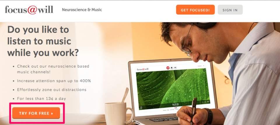 集中力が400%アップ!?神経科学を基に開発されたBGMアプリ「Focus@Will」がスゴい… 3番目の画像