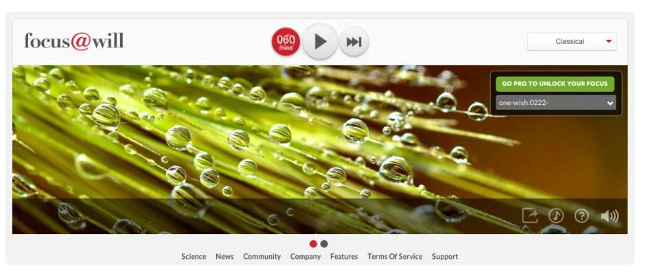 集中力が400%アップ!?神経科学を基に開発されたBGMアプリ「Focus@Will」がスゴい… 4番目の画像